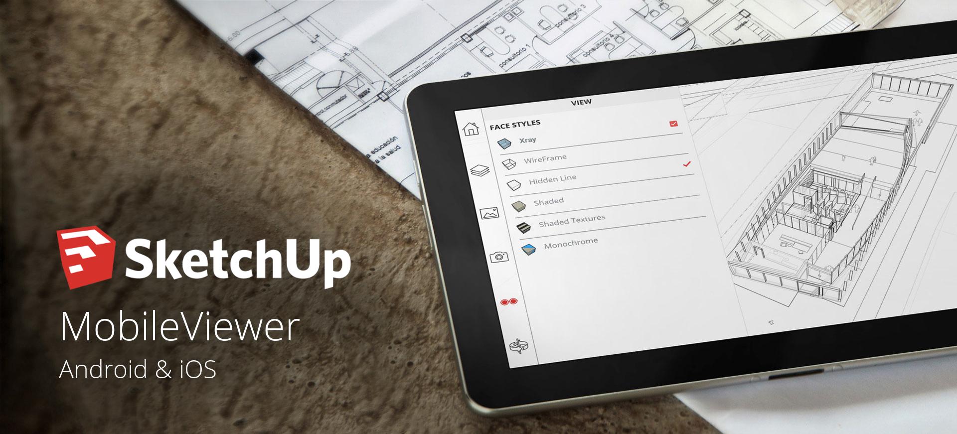 Sketchup mobileviewer